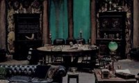 Slytherin common room.