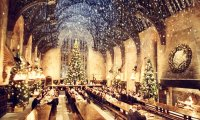 Christmas in Hogwarts' Great Hall